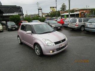 2005 Suzuki Swift EZ Purple 4 Speed Automatic Hatchback.