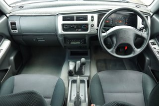 2005 Mitsubishi Triton MK MY05.5 GLX-R Double Cab Silver 5 Speed Manual Utility.