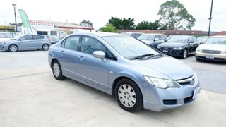 2008 Honda Civic 8th Gen MY08 VTi Blue 5 Speed Automatic Sedan.