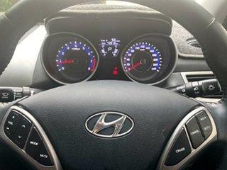 2012 Hyundai Elantra MD Elite Creamy White 6 Speed Sports Automatic Sedan