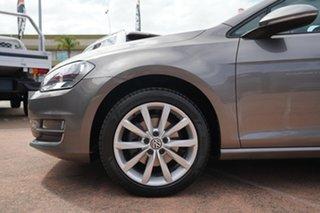 2015 Volkswagen Golf AU MY15 110 TDI Highline Grey 6 Speed Direct Shift Hatchback.