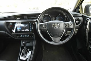 2016 Toyota Corolla ZRE182R ZR S-CVT Black 7 Speed Constant Variable Hatchback