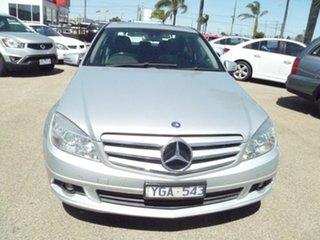 2011 Mercedes-Benz C-Class W204 MY11 C200 BlueEFFICIENCY 7G-Tronic + Silver 7 Speed Sports Automatic.