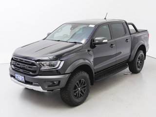 2020 Ford Ranger PX MkIII MY20.25 Raptor 2.0 (4x4) Black 10 Speed Automatic Double Cab Pick Up