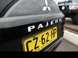 2008 Mitsubishi Pajero NS GLX LWB (4x4) White 5 Speed Auto Sports Mode Wagon