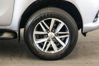 2017 Toyota Hilux GUN126R SR5 (4x4) Silver Sky 6 Speed Automatic Dual Cab Utility