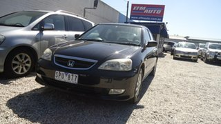 2003 Honda Civic 7th Gen MY2003 GLi Black 4 Speed Automatic Sedan.