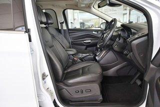 2015 Ford Kuga TF MY15 Titanium AWD White 6 Speed Sports Automatic Wagon