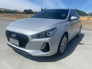 2017 Hyundai i30 PD MY18 Go Silver 6 Speed Sports Automatic Hatchback.