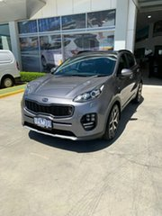 2017 Kia Sportage QL MY18 GT-Line AWD Grey 6 Speed Sports Automatic Wagon.