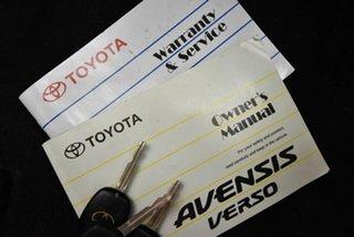 2007 Toyota Avensis Verso ACM21R GLX Silver 4 Speed Automatic Wagon