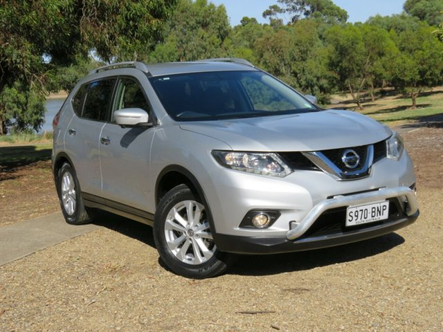 Used Nissan X-Trail T32 ST-L X-tronic 4WD Morphett Vale, 2016 Nissan X-Trail T32 ST-L X-tronic 4WD Silver 7 Speed Constant Variable Wagon