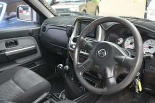 2005 Nissan Navara D22 ST-R (4x4) Orange 5 Speed Manual Dual Cab Pick-up.