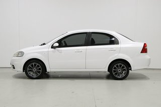 2009 Holden Barina TK MY09 White 4 Speed Automatic Sedan