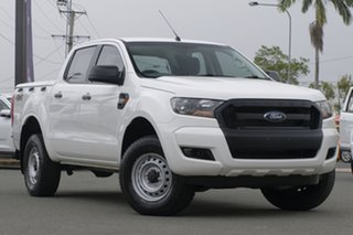 2015 Ford Ranger PX XL Cool White 6 Speed Sports Automatic Utility.
