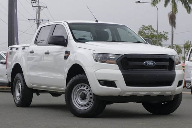 Used Ford Ranger PX XL Rocklea, 2015 Ford Ranger PX XL Cool White 6 Speed Sports Automatic Utility