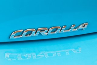 2019 Toyota Corolla ZWE211R SX E-CVT Hybrid Eclectic Blue 10 Speed Constant Variable Hatchback