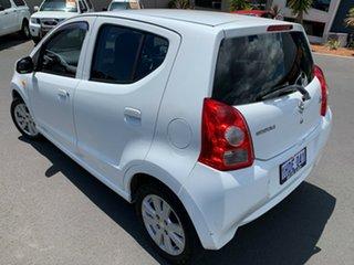 2010 Suzuki Alto GF GLX White 4 Speed Automatic Hatchback.