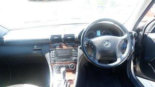2005 Mercedes-Benz C-Class S203 MY2005 C200 Kompressor Elegance Silver 5 Speed Sports Automatic