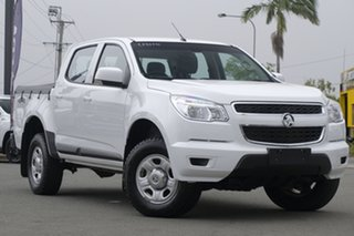 2015 Holden Colorado RG MY16 LS Crew Cab Summit White 6 Speed Manual Utility.