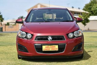 2012 Holden Barina TM Red 5 Speed Manual Hatchback.