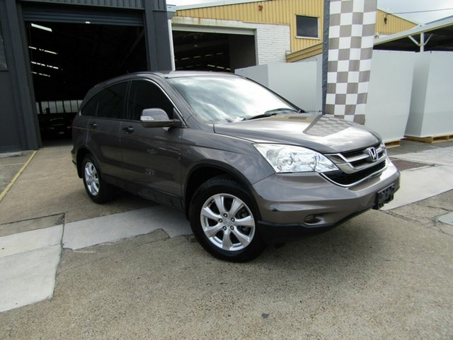 Used Honda CR-V RE MY2011 4WD Moorooka, 2012 Honda CR-V RE MY2011 4WD Grey 6 Speed Manual Wagon