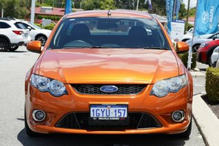 2010 Ford Falcon FG XR6 Turbo Ute Super Cab 50th Anniversary Orange 6 Speed Sports Automatic Utility