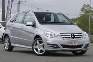 2010 Mercedes-Benz B-Class W245 MY11 B200 Polar Silver 7 Speed Constant Variable Hatchback.
