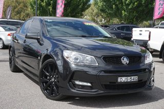 2016 Holden Commodore VF II MY16 SV6 Black Black 6 Speed Sports Automatic Sedan.