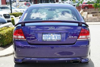 2003 Ford Falcon BA XR6 Turbo Mauve 4 Speed Sports Automatic Sedan