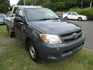 2008 Toyota Hilux TGN16R 07 Upgrade Workmate Grey 5 Speed Manual Cab Chassis