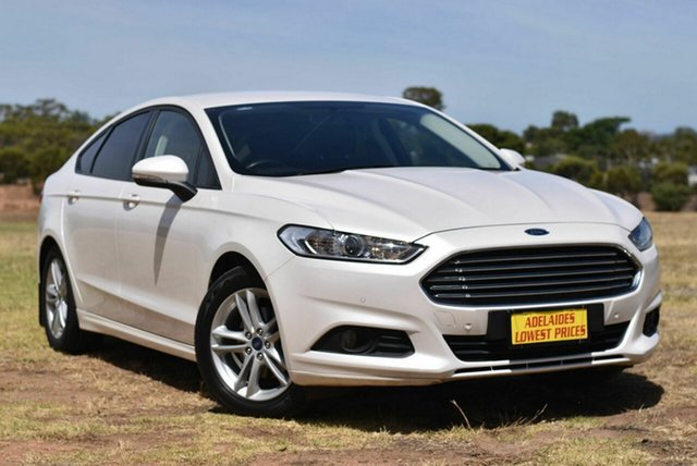 Used Ford Mondeo MD 2018.25MY Ambiente Enfield, 2018 Ford Mondeo MD 2018.25MY Ambiente White 6 Speed Sports Automatic Hatchback
