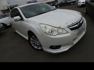 2010 Subaru Liberty MY10 2.5I Premium White Continuous Variable Sedan.