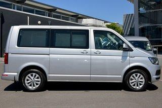 2018 Volkswagen Multivan T6 MY18 TDI340 SWB DSG Comfortline Silver 7 Speed.