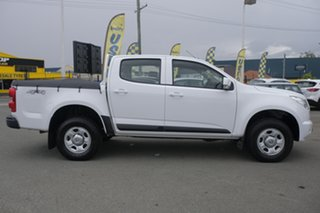 2015 Holden Colorado RG MY16 LS Crew Cab Summit White 6 Speed Manual Utility