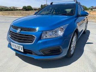 2015 Holden Cruze JH Series II MY15 Equipe Blue 5 Speed Manual Hatchback.