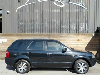2008 Ford Territory SY SR RWD Black 4 Speed Sports Automatic Wagon.