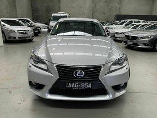 2013 Lexus IS GSE30R IS250 Luxury Silver 6 Speed Sports Automatic Sedan.