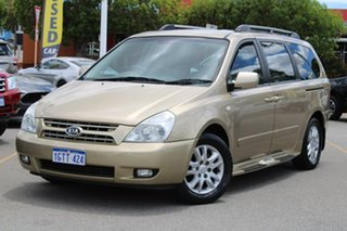 2008 Kia Grand Carnival VQ MY07 EX Gold 5 Speed Sports Automatic Wagon.