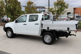 2018 Isuzu D-MAX MY18 SX Crew Cab White 6 speed Automatic Cab Chassis