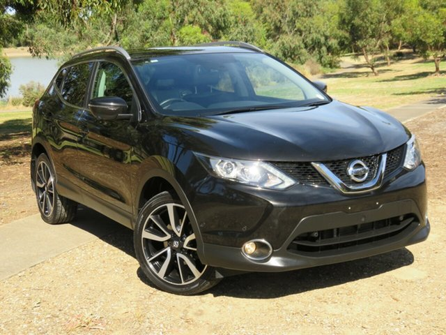 Used Nissan Qashqai J11 TI Morphett Vale, 2015 Nissan Qashqai J11 TI Black 1 Speed Constant Variable Wagon