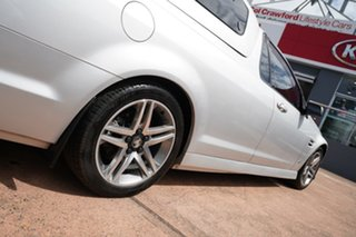 2012 Holden Commodore VE II MY12 SV6 Silver 6 Speed Automatic Utility