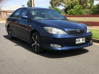 2003 Toyota Camry ACV36R Sportivo Blue 5 Speed Manual Sedan.