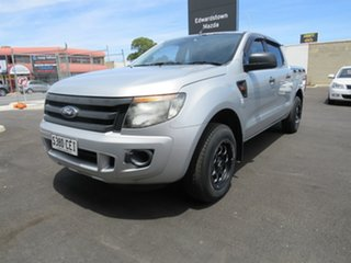 2013 Ford Ranger PX XL Silver 5 Speed Manual Utility.