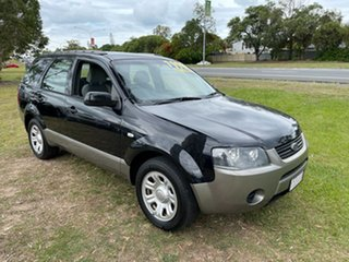 2009 Ford Territory SY MkII TX Black 4 Speed Sports Automatic Wagon