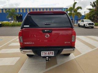 2018 Nissan Navara D23 Series II ST-X (4x4) Red 7 Speed Automatic Dual Cab Utility.