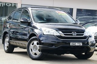 2011 Honda CR-V RE MY2011 4WD Black 5 Speed Automatic Wagon.