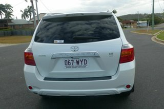 2009 Toyota Kluger GSU40R Grande 2WD White 5 Speed Sports Automatic Wagon