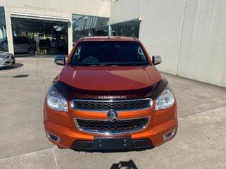 2015 Holden Colorado RG MY15 LTZ Crew Cab Orange 6 Speed Sports Automatic Utility.