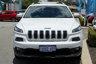 2014 Jeep Cherokee KL Longitude White 9 Speed Sports Automatic Wagon
